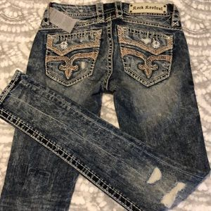 NEW Rock Revival skinny jeans